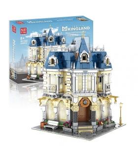 MOULD KING 11005 MKingLand Costume Shop with LED Lights Building Blocks Toy Set