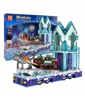 MOLD KING 11002 Dream Crystal Parade Float Bausteine-Spielzeug-Set