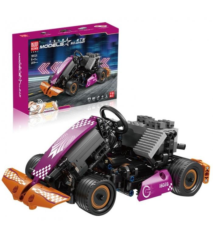 MOULD KING 18026 RC Karting GO-KART Remote Control Building Blocks Toy Set