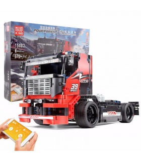 MOULD KING 15002 Racing Truck Remote Control Building Blocks Toy Set