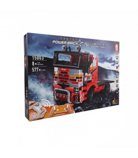 MOULD KING 15003 RC Transport Truck Remote Control Building Blocks Toy Set