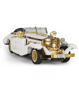 MOULD KING 10003 Variety Creative Series Nostalgic Classic Car Building Blocks Toy Set