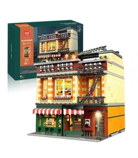 MOLD KING 16014 Friends Cafe Bausteine-Spielzeug-Set