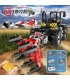 MOULD KING 17019 Tractor Fastrac 4000er Remote Control Building Blocks Toy Set