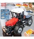 MOULD KING 17020 Red Tractor Fastrac 4000er Remote Control Building Blocks Toy Set