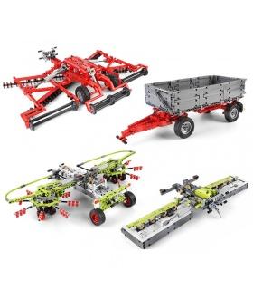 MOLD KING 17021 Traktor-Ergänzungspaket Bausteine-Spielzeug-Set