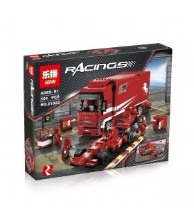 LEPIN 21022 Ferrari Truck Building Bricks Set