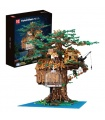 MOULD KING 16033 Tree House Treehouse with Lights Building Blocks Toy Set