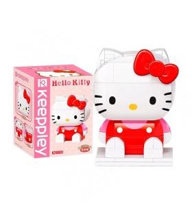 Keeppley K20801 Hello Kitty Serie Hello Kitty Bausteine-Spielzeug-Set
