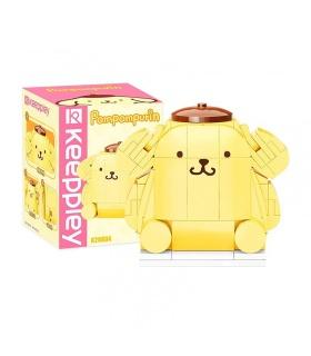 Keeppley K20804 Hello Kitty Series Pompompurin Juego de bloques de construcción de juguetes