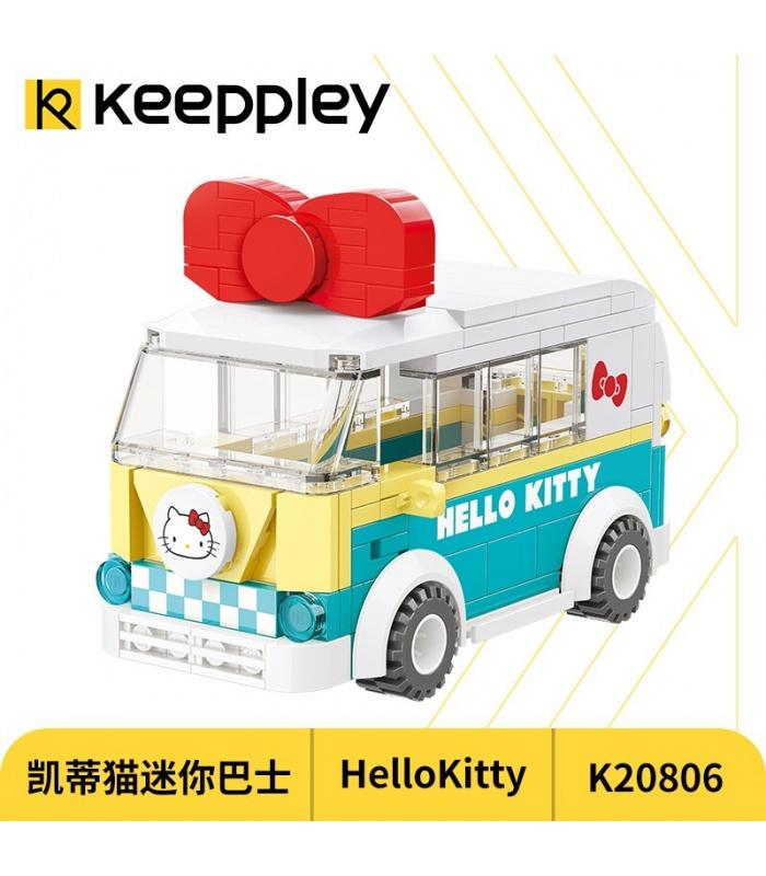 Keeppley K20806 Hello Kitty Series Mini Bus Building Blocks Toy Set