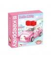 Keeppley K20805 Hello Kitty Series Mini Car Building Blocks Toy Set