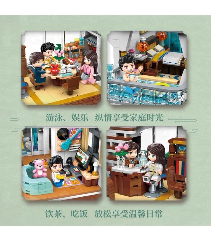 Keeppley K18002 Qiyun Villa Building Blocks Toy Set