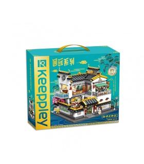 Keeppley K18002 Qiyun Villa Blocs de Construction Ensemble de Jouets