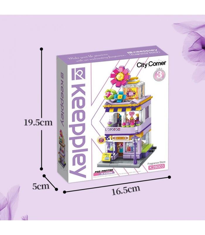 Keeppley K28003 City Corner Fuyu Fragrance Shop Building Blocks Toy Set