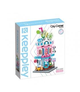 Keeppley K28005 City Corner Mojito Pub Building Blocks Ensemble de jouets