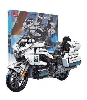MOLD KING 23001 Motorrad-Serie GL1800 Motorrad-Bausteine-Spielzeug-Set