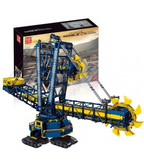 MOLD KING 17006 Schaufelradbagger Fernbedienung Bausteine Spielzeug Set