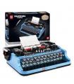 MOULD KING 10032 Retro Typewriter Building Blocks Toy Set