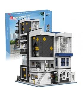MOLD KING 16043 Art Gallery mit LED-Leuchten Novatown Series Building Blocks Toy Set