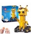 Mould King 13044 Geoffubot Long Dee Walking Brick Remote Control Building Blocks Toy Set
