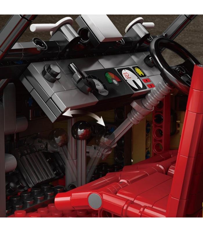 MOULD KING 13080 Bugatti 50T Building Blocks Toy Set