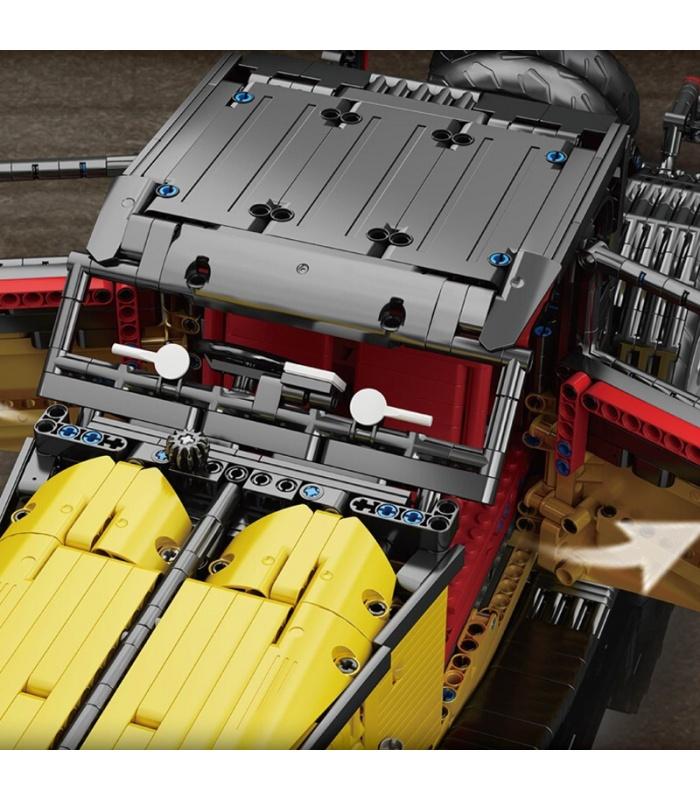 MOLD KING 13080 Bugatti 50T Bausteine-Spielzeug-Set