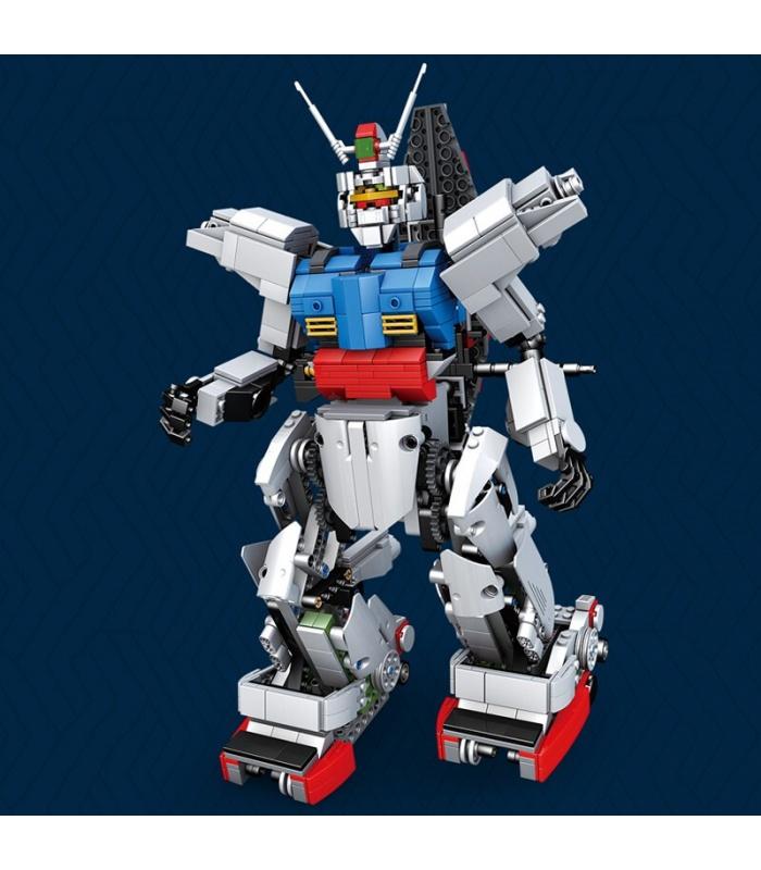 MOLD KING 15024 RC RX78 Gundam Bausteine-Spielzeug-Set