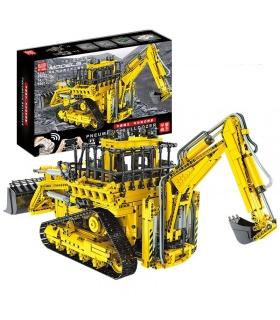MOLD KING 17023 D8K Bulldozer Bausteine-Spielzeug-Set