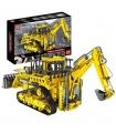 MOULD KING 17023 Pneumatic Bulldozer Remote Control Building Blocks Toy Set