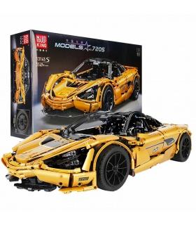 MOLD KING 13145S Automodellserie McLaren 720S Goldene Bausteine-Spielzeug-Set