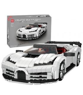 MOLD KING 10004 Bugatti 110 Special Edition Sportwagen Bausteine-Spielzeug-Set