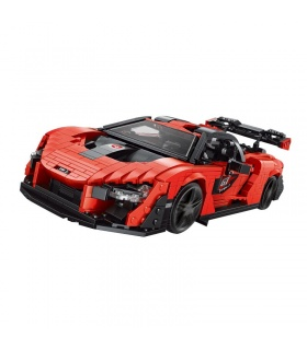 MOULD KING 10007 The Senna Car Model Building Blocks Toy Set