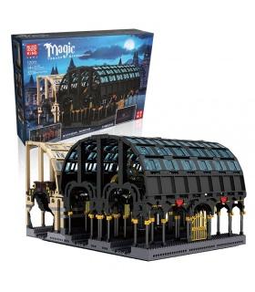 MOLD KING 12011 Magic World Magic Station Bausteine-Spielzeug-Set