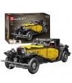 MOLD KING 13080 Bugatti 50T Oldtimer-Bausteine-Spielzeug-Set