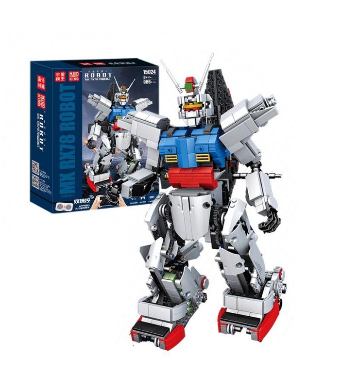 MOLD KING 15024 RC RX-78 Gundam Bausteine-Spielzeug-Set