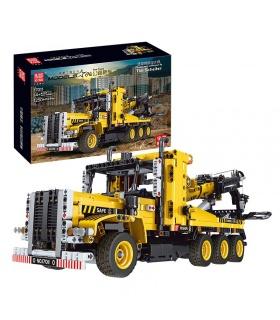 MOULD KING 17011 City Engeineering Heavy-duty Tow Truck Building Blocks Toy Set
