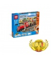 LEPIN 02039 Red Cargo Train Building Bricks Set
