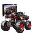 MOLD KING 18008 Flamme Monster Buggy Auto Fernbedienung Bausteine Spielzeug Set