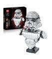 MOLD KING 21022 Stormtrooper Büste Bausteine-Spielzeug-Set