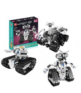 MOLD KING 15046 STEM RC Steuerung Transbot Modell Bausteine Spielzeug Set