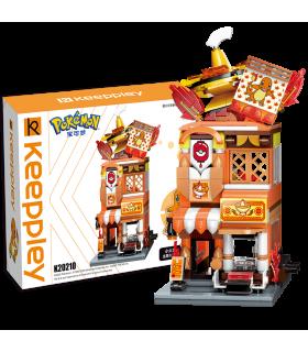 Keeppley K20210 Charmander Hotpot Restaurant Shop Bausteine Spielzeugset