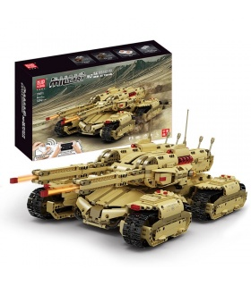 MOLD KING 20011 RC Red Alert Mammoth Tank Building Blocks Spielzeugset