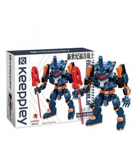 Keeppley K20301 Neon Genesis Evangelion Unit Mark 06 Mini Size Building Blocks Toy Set