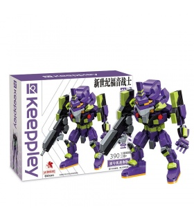 Keeppley K20302 Neon Genesis Evangelion Unit No. 1 Mini Size Building Blocks Toy Set