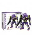 Keeppley K20302 Neon Genesis Evangelion Unit 01 Mini Building Blocks Toy Set