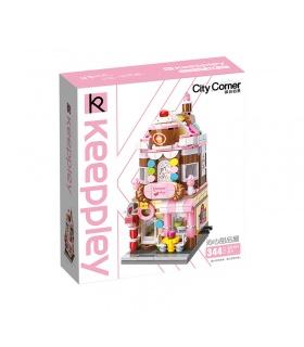 Keeppley City Corner C0101 Honey Sweet Dessert House QMAN Building Blocks Toy Set