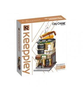 Keeppley City Corner C0102 Coffe House QMAN Building Blocks Toy Set