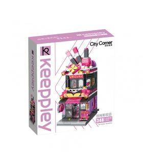 Keeppley City Corner C0103 Trendy Cosmetics Store House QMAN Building Blocks Toy Set