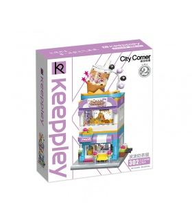 Keeppley City Corner C0108 Bubble Tea House QMAN Building Blocks Toy Set